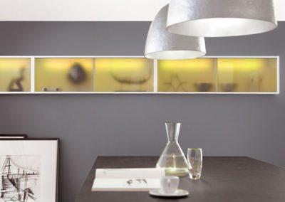 Küchenstudio Janthur-Beleuchtung  2016-Schrankbeleuchtung in Gelb