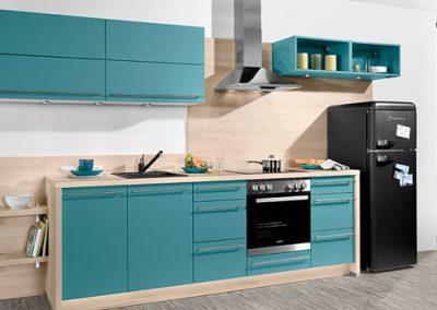 Küchenstudio Janthur-Farbtrends-Blau