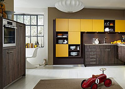 Küchenstudio Janthur-Farbtrends-Gelb