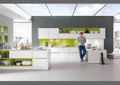 Küchenstudio Janthur-Farbtrends-grün