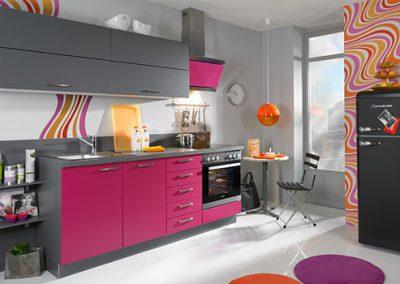 Küchenstudio Janthur-Küchentrends-pink