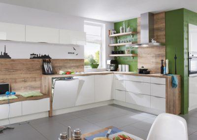 Küchenstudio Janthur-Farbtrends-Weiße Küche