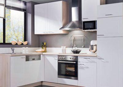 Küchenstudio Janthur-Farbtrends-Weiße Trendküche