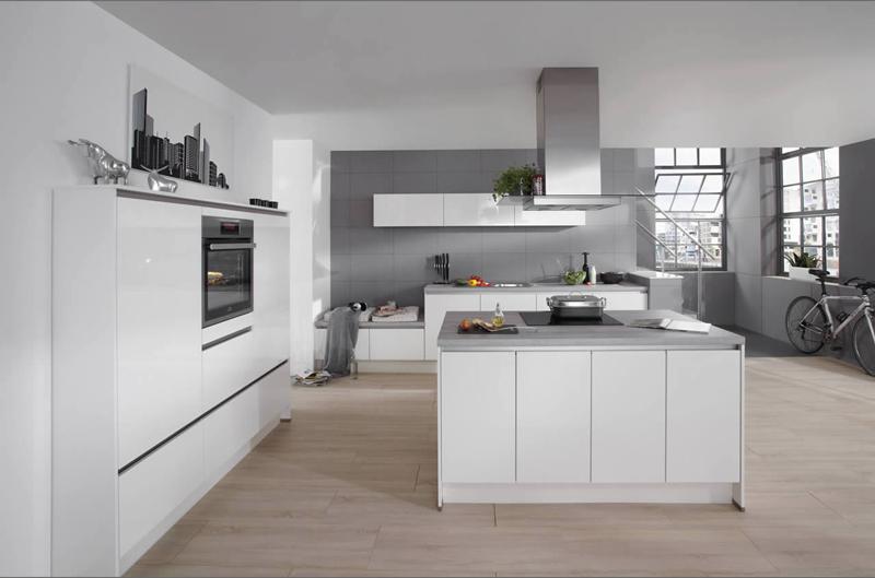 Offene Küche: Platz ohne Ende