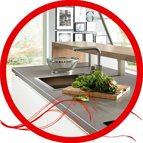 die perfekte Arbeitsplatte finden durch Küchen Knowhow Chemnitz