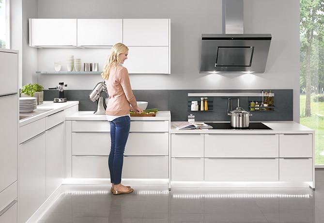 720 mm Standard-Aktivhöhe für Arbeitsvorbereitungen - ergonomische Küche