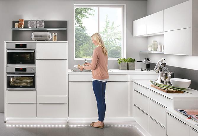 Spülenboden ergonomisch planen - ergonomische Küche
