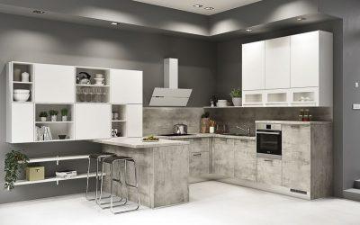 Neuer Designtrend: Küchen in Betonoptik