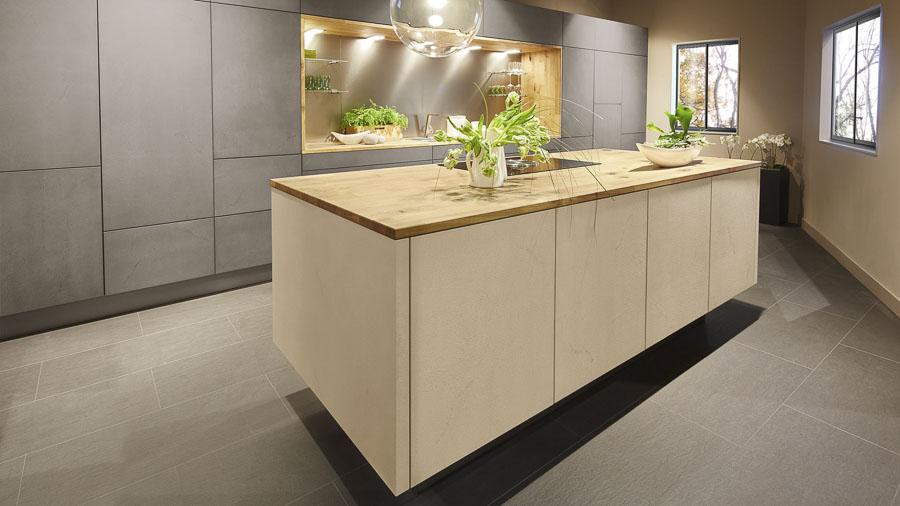 k chenstudio janthur neuer designtrend k chen in betonoptik. Black Bedroom Furniture Sets. Home Design Ideas
