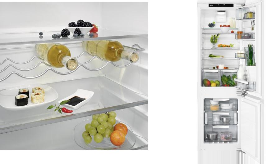 Im Gegensatz zu den Kühlschränken der 70-erwelche es nur im eintürigen Format mit Kühlfach gab, gibt es heute die unterschiedlichsten Designvariationen, Größen und Technik-Highlights.