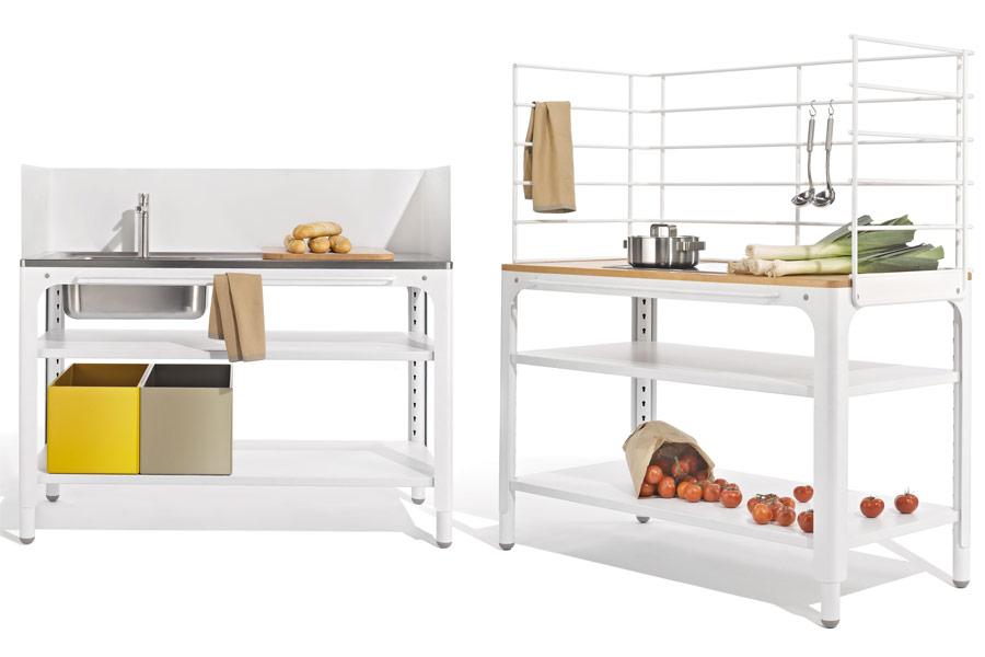 Hochflexible Konzeptküchen werden auch modulare Küche genannt.