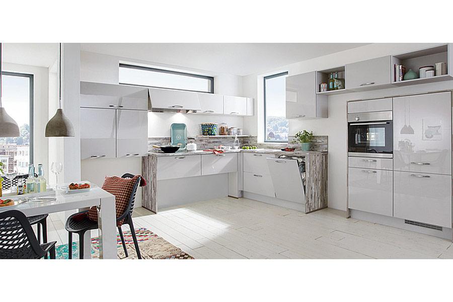 Modulare Küche - kann durch ihre Flexibilität einfach anders arrangiert werden