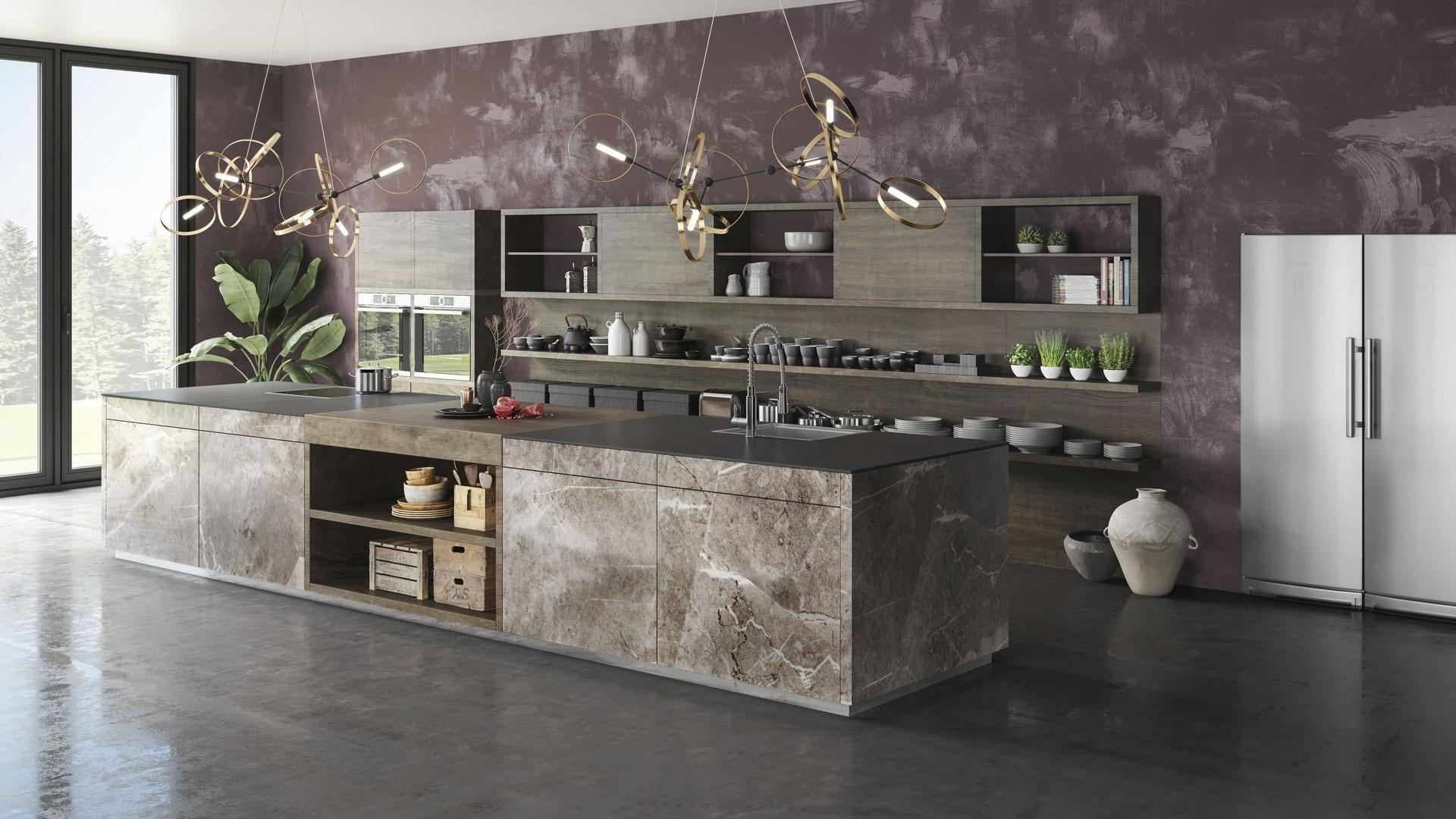ein immer beliebter werdender Trend auch beim Thema Küche ist der Industrial Style.