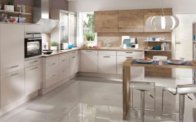 Der Küchenfußboden