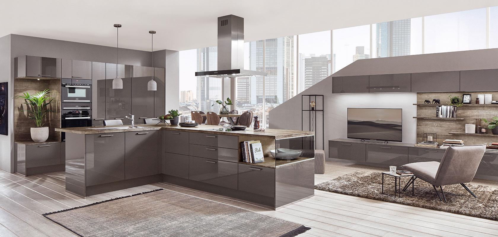 Küchenfußboden in hellem Holz - modern und zeitlos